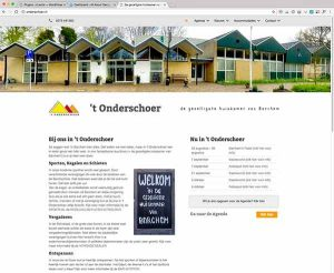 Een website ontwikkeld door All About Design